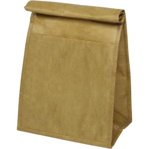 Papír hatású hűtőtáska, barna